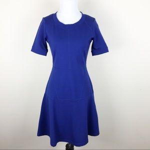 Athleta Royal Blue Fit & Flare Dress XXS